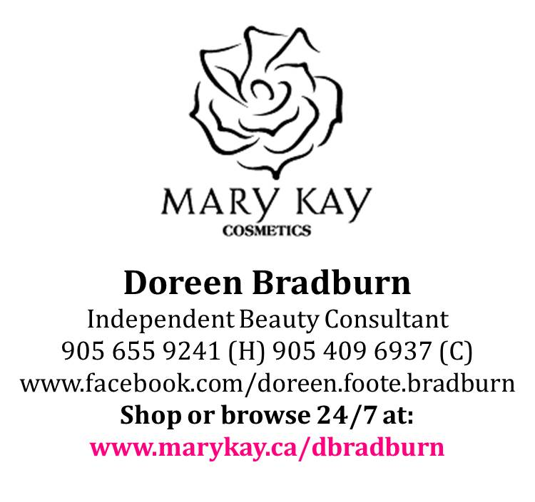 Mary Kay Cosmetics Doreen Bradburn  Independent Beauty Consultant